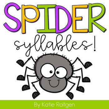 Spider Syllables!