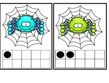 Spider Ten Frame