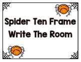 Spider Ten Frame - Write the Room