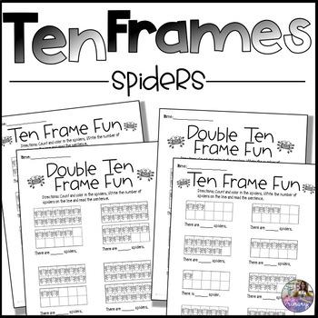 Spider Ten Frames
