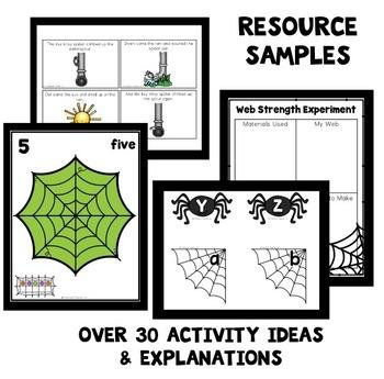 Spider Theme Preschool Lesson Plans
