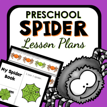 Spider Theme Preschool Classroom Lesson Plans