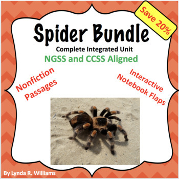 Spider Science and Nonfiction Reading Complete Bundle