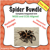 Spider Science and Close Read Complete Bundle NGSS 4-LS1-1