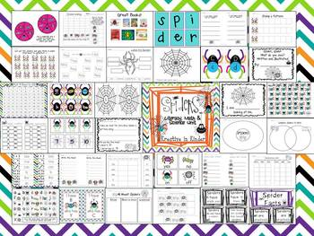 Spider Unit Literacy, Math, & Science Learning FUN!
