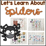 Spider Unit of Study for Kindergarten and 1st Grade