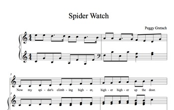 Spiders/High and Low Musical Concepts/Pitch