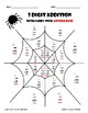 Spider Web 3 Digit Addition with Carry Over
