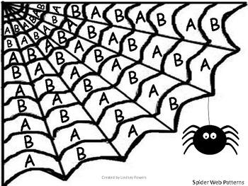 Spider Web AB Patterns