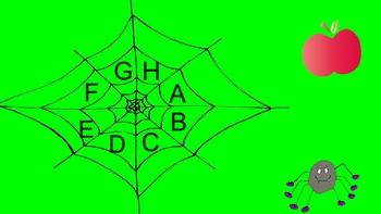 Spider Web Beginning Sounds