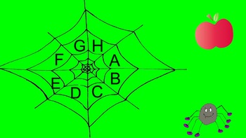 Spider Web Beginning Sounds