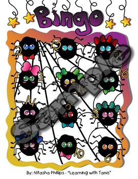 Halloween Bingo_ Spiderweb