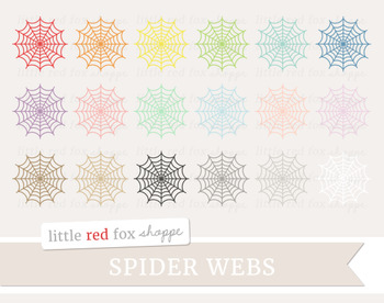 Spider Web Clipart; Halloween, Insect, Bug