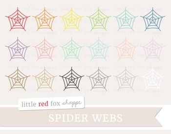 Spider Web Clipart; Halloween