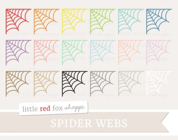 Spider Web Corner Clipart; Halloween, Insect, Bug