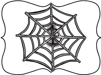 Spider Web Counting Mats 1-30