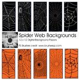 Spider Web Digital Backgrounds
