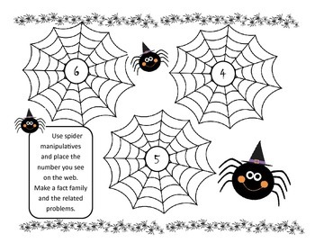 Spider Web Fact families