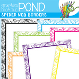 Spider Web Frames - Graphics From the Pond