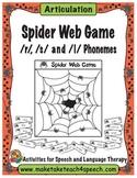 Spider Web Game for Articulation