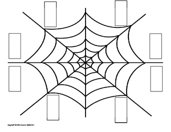 Spider Web Math - Numbers and Place Value Practice!