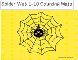 Spider Web Number Mats