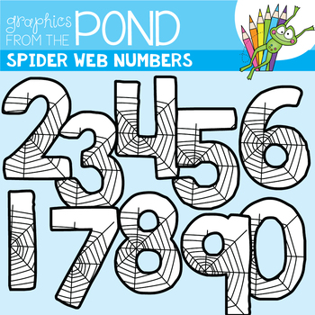 Spider Web Numbers - perfect for Halloween