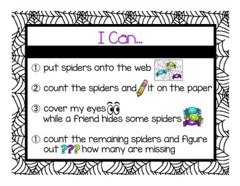 Spider Web Part-Part Whole Game