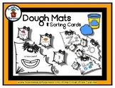 Spider & Web - Play Dough Manipulative Mats - Alphabet Num