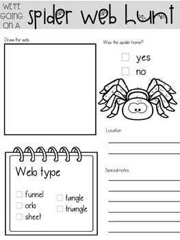 Spider Webs Science: Observe, Record, and Create