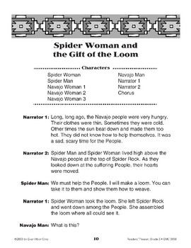 Spider Woman and the Gift of the Loom