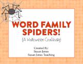 Spider Word Families {Freebie!}