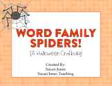 Spider Word Families {Freebie!}