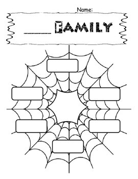 Spider Word Families WS
