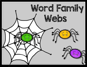 Word Family Webs