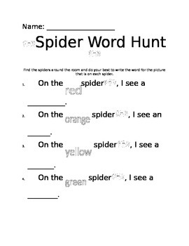 Spider Write the Room