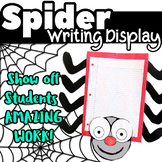 Spider Writing Display