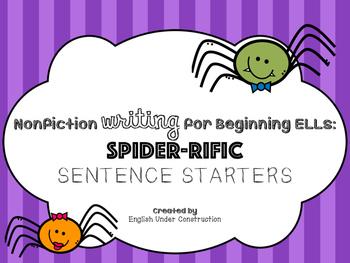 Spider-Rific Sentence Starters