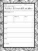 Spider Writing Freebie (graphic organizers & writing paper)