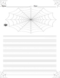 Spider Writing / The Spider and the Fly Writing Sheet