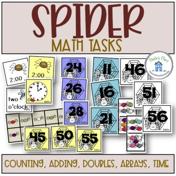 Spider - Writing and Math Bundle