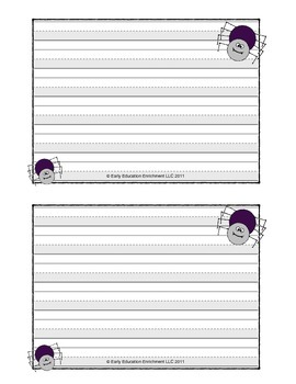 Spider Writing and Word Family Activity