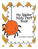 Spider body part lesson
