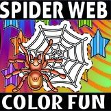 Spider fun color