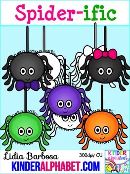 Spider-ific { Clip Art for Teachers }