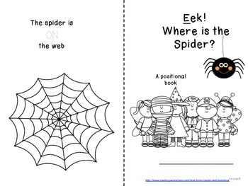 Spider positional book