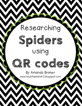 Spider research with QR codes