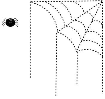 SpiderWeb Line Tracer (Halloween / Fall)