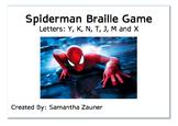 Spiderman Braille Game