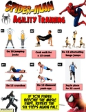 Spiderman Superhero Fitness Warm-up Activity for PE